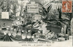 Exposition internationale culinaire de Paris. Grand prix. A. Chalbet (1909). AM Blois, 5 Fi 925.